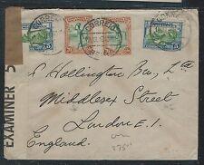 MOZAMBIQUE (P2912B) 1940 5CX2+70CX2 CENSOR COVER TO ENGLAND