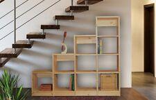Regalsystem, Kiefer massiv, neu, 155/50x172,5x35 cm,  weitere Varianten im Shop.