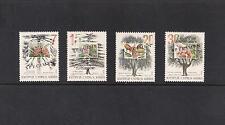 1994 TREES OF CYPRUS Set of 4v  PINE, CEDAR, OAK, BERRY Opt. SPECIMEN MNH.