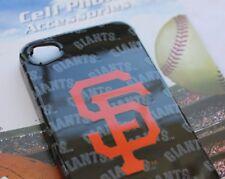 iPHONE 4 4G 4S - OFFICIAL MLB SF GIANTS San Francisco HARD PROTECTOR SKIN ORANGE