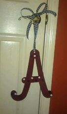 Alabama A hand painted wooden letter