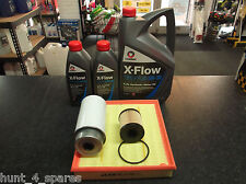 FORD TRANSIT 2.2 2.4 EURO 3 SERVICE KIT OIL AIR FUEL FILTERS 7 LITRES OIL -XFLOW