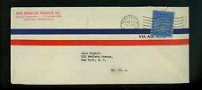 Postal History Venezuela Scott #C27 Pan Am Airways 1930's Caracus to New York NY