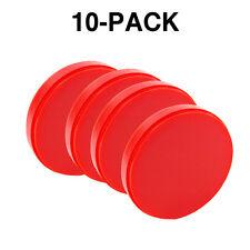 10 Pack of 20mm Orange Dental Milling Wax (Open System) 98mm * 20mm
