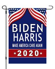 Biden Harris For President 2020 Garden Banner Flag 12x17