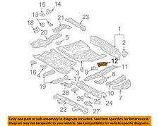 Lexus TOYOTA OEM 04-06 RX330 Floor Rails-Rear-Spare Bracket 583050E010