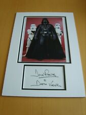 Dave Prowse Star Wars Genuine Signed Authentic Autograph - UACC/AFTAL