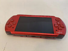 Sony PSP 3000 Red  with AC Adapter  ****SHIP FROM U.S.A.****