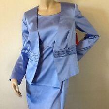 Tailleur e abiti sartoriali da donna blu abito in poliestere