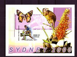 Niger Block 129 - postfrisch, ungezähnt - Olympia 2000 - Herren Einzel