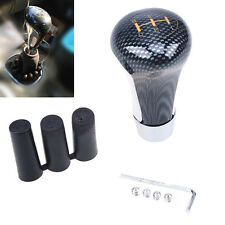 New Carbon Fiber Style Manual Autos Off-Road 5-Speed Gear Stick Shift Knob Cover