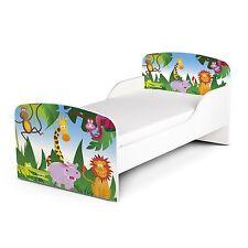 Jungle Design MDF Lit Enfant Neuf en Bois