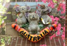 Australien Koala Reiseandenken Souvenir 3D Polyresin Kühlschrank Magnet Geschenk