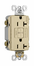 Pass & Seymour 2097I Feed Thru Duplex GFCI Receptacle, Ivory