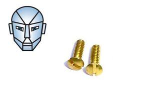 Brass Slot Head Grip Screws - To Suit Crosman 1377, 2240, 2250