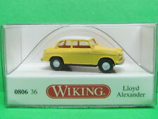 1:87 Wiking 080636 Loyd Alexander TS - gelb mit weißem Dach Blitzversand per DHL