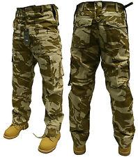 "48 ""POLLICI britannica Desert Camouflage Esercito Militare Cargo Combat Pantaloni Pants"