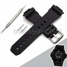 J3 Replacement Watch Band Strap For G Shock DW-6900 W/ Batch&Needles