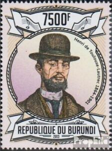 Burundi 3092 (complete issue) unmounted mint / never hinged 2013 Henry de Toulou