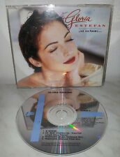 CD GLORIA ESTEFAN - SI SENOR - SINGLE 4 TRACKS