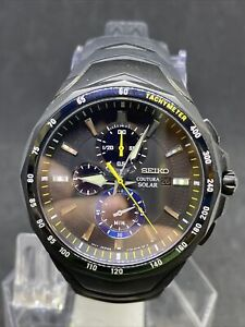 Seiko Coutura Jimmie Johnson Special Edition Solar SSC697 Mens Watch #19