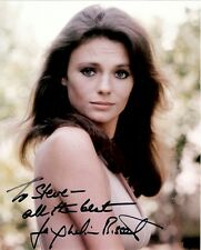 JACQUELINE BISSET Hand Signed Photo 8 x 10 Color Autograph To Steve All the best