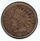 KAPPYSCOINS W6992 1863 DARK VF CIVIL WAR USED AND DATED  INDIAN HEAD CENT  for sale