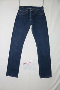Levi's 513- 04 slim indigo Utilisé (Cod.U947) W29 L32 en Jeans Droit Grade A