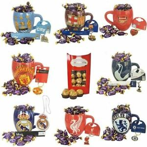 Father's Day FC Gift Set with Mug, Key ring / Air freshener and Cadbury Eclairs