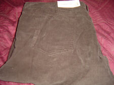 Sonoma Straight Fit Cordoroy Pant Chocolate Color 36/32 #609