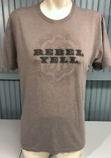 Rebel Yell Kentucky Whiskey Brown Large T-Shirt