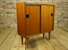 60er Vintage Mini Sideboard Kommode Anrichte Nussbaum Credenza Mid Century