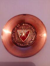 1991 European Cup Final - Red Star Belgrade  Olympique VERY UNIQUE BRONZE PLATE