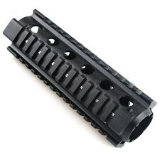 223/5.56 Quad Rail Handguard 6.5 inch Carbine Length 2 Piece Drop-In Picatinny