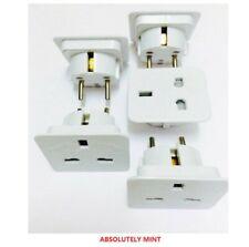 5 x UK to EU Europe Power Adaptor Plug Converter Travel Adapter European 2 Pin