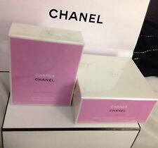 Chanel Chance Eau Tendre 2 Pc. - Huge 3.4 Oz Edts & 7.0 Oz Moisturizing Cream