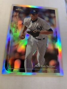 1999 Topps Chrome Refractor # 172 Mariano Rivera NY Yankees