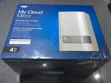 WD 4TB  My Cloud Mirror Personal Network Attached Storage - NAS