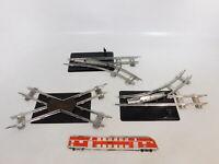 BI250-0,5# alte Spur S Handweichen und Kreuzung; Blech/Metall