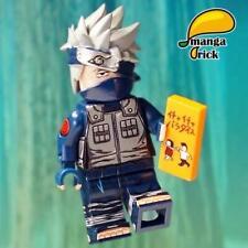 ⎡MANGA BRICK⎦ Pre-order Custom NARUTO Kakashi Hatake Lego Minifigure, LAB9