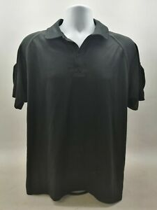 Ex Police Black Moisture Wicking T-Shirt Grade 2 Nano Kool Uniform Security Duty