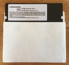 "COMMODORE 128 CP/M 3.0 sistema & utilities Floppy ""FLIPPY"" DISCO"