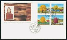 Canada Fdc 1994 Maple Block Countries Symbol Flora First Day Cover Wwh85241