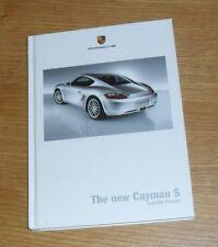 Porsche Cayman S Hardback Brochure 2005-2006 - 3.4 S Gen 1