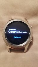 Samsung Galaxy Gear S3 classic Black Classic 46mm Stainless Steel Case Silver...