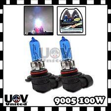2 x 9005 White 5000k Gas Xenon Halogen Headlight Bulbs Power Lamp Replacement