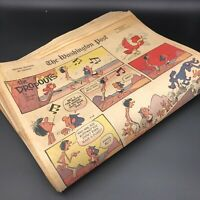 24 x Sunday Comic Strips 1970 Doonesbury, Phantom, Dick Tracy Vintage Newspaper