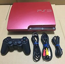 USED PlayStation 3 PS3 Console System 320GB Scarlet red game Japan CECH-3000BSR