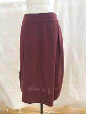Gary Graham Burgundy Skirt