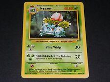 Pokemon Base Set 1 UN-COMMON Ivysaur 30/102 - NM/M Condition